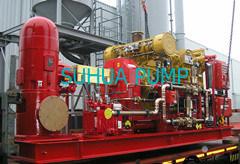 Дизельный вертикального типа турбины насоса (VTP)