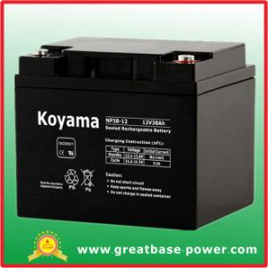 38ah 12V Bateria de chumbo-ácido selada Bateria do MGA