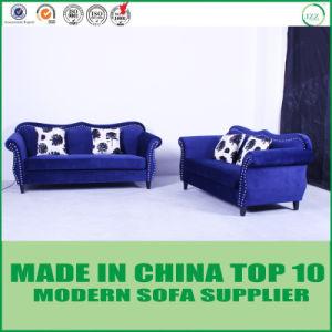 Hauptmöbel-Samt-Gewebe-klassisches Sofa Loveseat und Stuhl