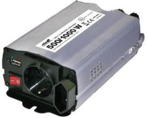 Инвертор 500 Вт 12V/230V с USB