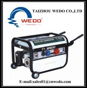 Generatore di Wd2800-4 Gesoline con la maniglia e le rotelle (2kw/2500With2.8kVA)