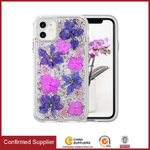 Illustration fleur couvercle transparent résistant aux chocs souple Téléphone pour iPhone 11