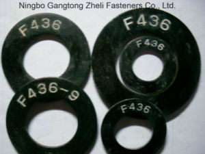 Rondelle plate de l'acier du carbone de dispositifs de fixation d'aperçu gratuit ASTM F436