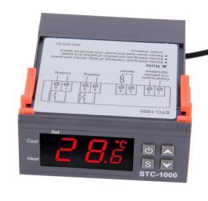 Controlador de temperatura de 220V el Acuario de termostato de la cadena de frío de la Incubadora Mayorista de Temp (STC1000)