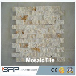 Mosaico travertino azulejos para bao y una pared exterior Clading