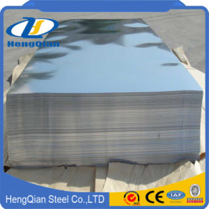 La certification ISO SUS 201 304 316 2b ba plaque en acier inoxydable