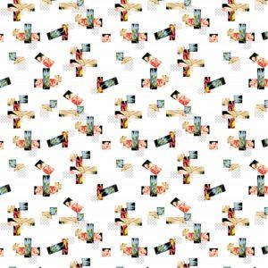 신축성 직물 의복 (PPF-076)를 위한 인쇄된 폴리에스테 직물