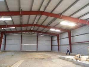 Cheap longue durée de vie Structure en acier préfabriqués hangar de l'entrepôt