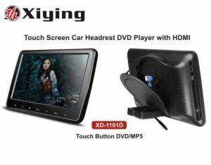 Lettore DVD del poggiacapo dell'automobile dello schermo di tocco di HD 10.1  con HDMI/MP5