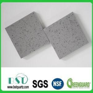灰色の輝きの水晶石のカウンタートップ