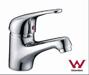 衛生製品の透かしおよびWelsは承認したクロムによって終えられた真鍮の単一のレバーの洗面器の蛇口(HD6041)を