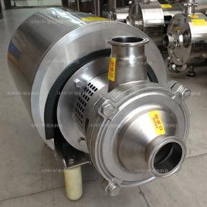 Roestvrij staal Sanitary CIP Self Priming Pump voor Liquid