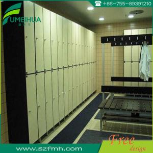 更衣室のための裏側のコートのホックが付いているコンパクトな積層のベンチ