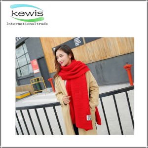 冬の女性のための最上質のカシミヤ織のスカーフ