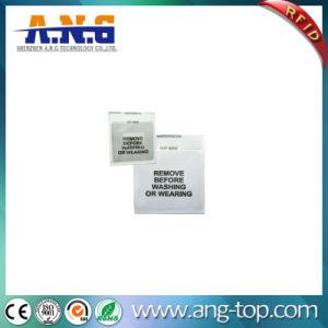 Tejido lavable Etiquetas Ropa UHF RFID para la gestión de almacenes de ropa