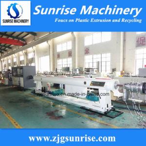 Línea de producción de tubos de plástico de PVC / máquina de extrusión para la venta