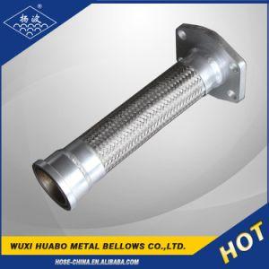 Tubo flessibile ondulato del metallo flessibile dell'acciaio inossidabile con l'estremità della flangia