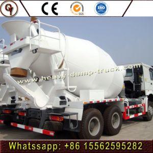 HOWO 10m3 de rouleau du tambour de mélangeur de béton 6X4 Camion de livraison de ciment