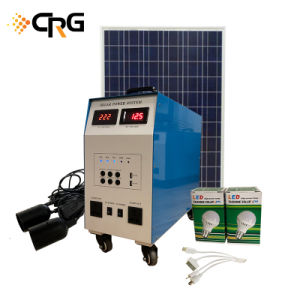 Fábrica de Shenzhen Crg Sistema de Energía Solar 1kw 2kw 3kw 4kw 5kw