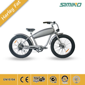 26インチの脂肪質のタイヤの電気バイクの雪浜の巡洋艦の電気自転車