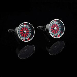 VAGULA Wheel di Fortune Cufflinks (HLK35149)