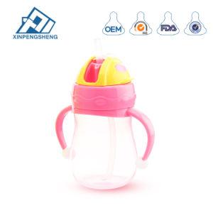Bebé niño lindo formador del vaso de agua potable con Empuñadura sin BPA