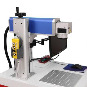 3D円形の表面のダイナミックなファイバーレーザーの彫版機械