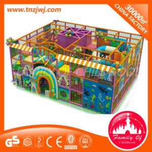 Parc de loisirs de l'équipement de terrain de jeux intérieure de la diapositive de labyrinthe