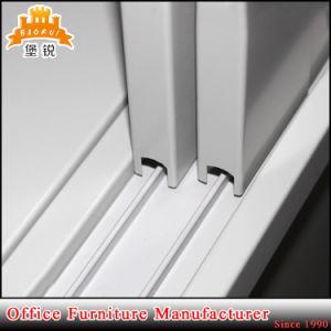 Casellario dell'acciaio dell'armadietto del portello scorrevole del metallo dell'ufficio Fas-017