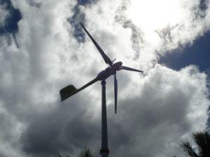 По горизонтальной оси ветра генератор-10квт