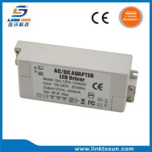 driver di potere del cv di 12V 4A 48W LED con il FCC RoHS del Ce