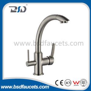 銅のHotかCold/Drinking Water Basin Kitchen Chrome 3 Way Sink Faucet