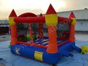 Accueil utilisé gonflable en nylon Mini châteaux gonflables avec toboggan pour les enfants H1026