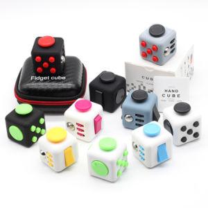Fidget Cube Turismo EDC Brinquedos Cubos Mágicos Puzzle aliviar o estresse Brinquedos Material ABS Vs Fidget Pad dons de Spin para autismo Tdah Kids