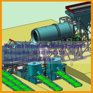 Philippines 200tph alluvions aurifères Usine de production de minerai de