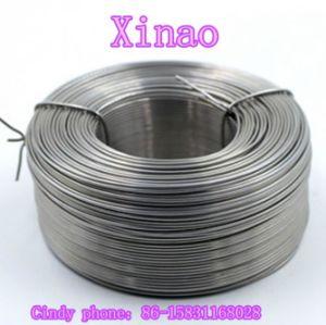 O fio de aço Anelada Preto macio (XA-BW18)