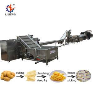 L'industrie Frites surgelées automatique de ligne de production