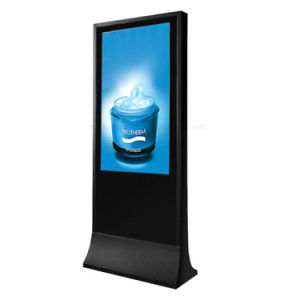Yashi 65inch Digital Signage LCD-Bildschirmanzeige einteiliger PC Kiosk