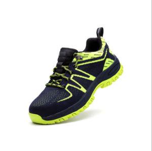La fibra de vidrio PU Puntera único deporte Zapatos de seguridad