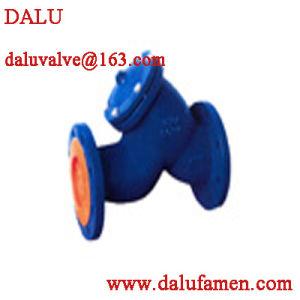 Soupape de Dalu Filte en fonte (dalu)