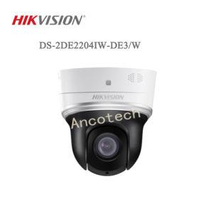 Hikvision 2MP 4× De Camera PTZ van wi-FI van IRL van de Koepel van de Snelheid van het netwerk (ds-2de2204iw-DE3/W)