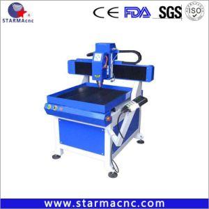 2018 Concurrerende Kleine Grootte 6060 van de Prijs Machine van de Gravure van het Metaal van 6090 3D CNC