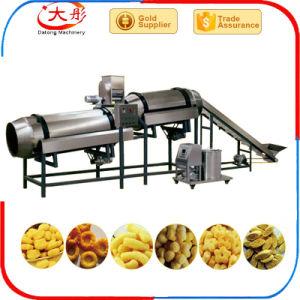 Snacks de maíz máquina de fabricación de alimentos Snack Pellet Puff extrusora de alimentos haciendo