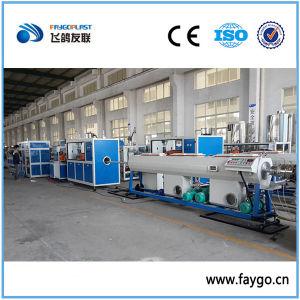 Tubo de drenaje de la extrusión de PVC que hace la máquina