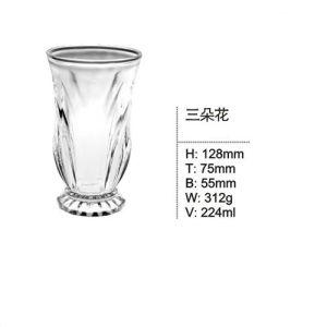 La copa de vidrio de alta calidad vaso para beber la copa de cerveza poner Sdy-F00100