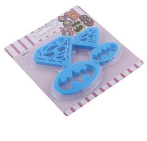 3D DIY Handpress пластиковые Superman праздник штамп для печения с пакета