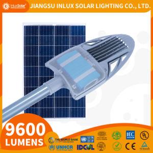 Inlux Solar-Falcon tout-en-Deux Rue lumière solaire 20W-60W/3m-8m avec batterie au lithium LiFePO4 construit à l'intérieur