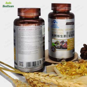 Produtos de cuidados de saúde dos alimentos naturais alimentos orgânicos alimentos verde natural de beleza da pele da vitamina E Softgel para baixa imunidade (60 softgels/ garrafa)