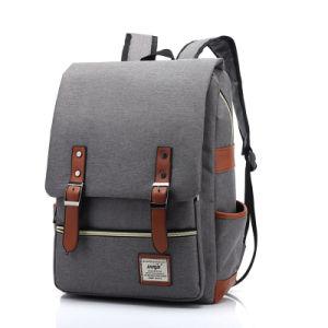 Design de moda notebook durável mochila Saco de livros para a escola e a empresa
