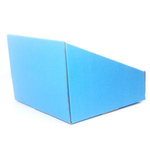 A impressão em cores o logotipo personalizado papel jóias de Papelão Ondulado Caixa de exibição